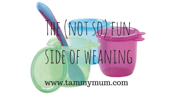 The (not so) fun side of weaning