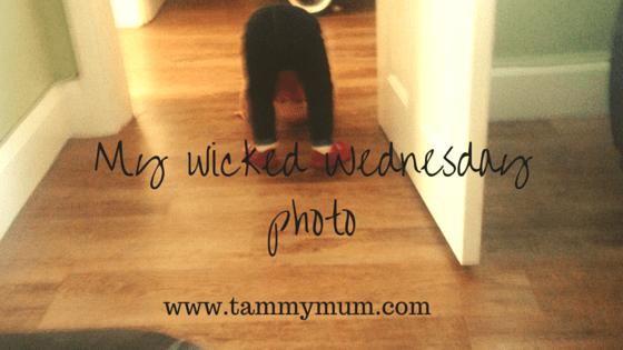 My wicked Wednesday photo6/4/16