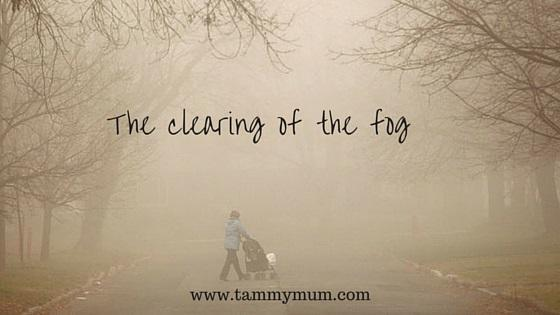 The clearing of the fog