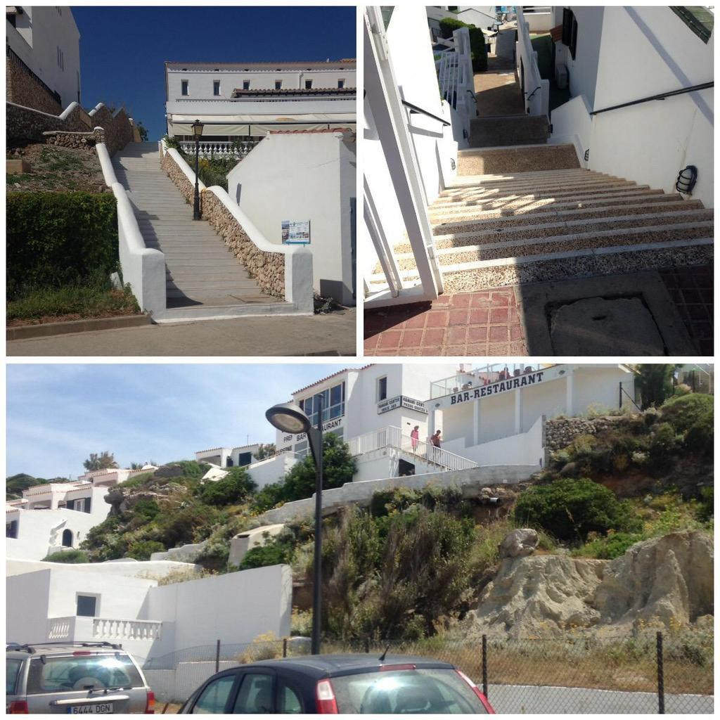 Steps in menorca