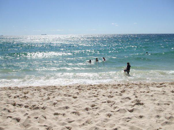Me on Coteslow beach in Perth Western Australia