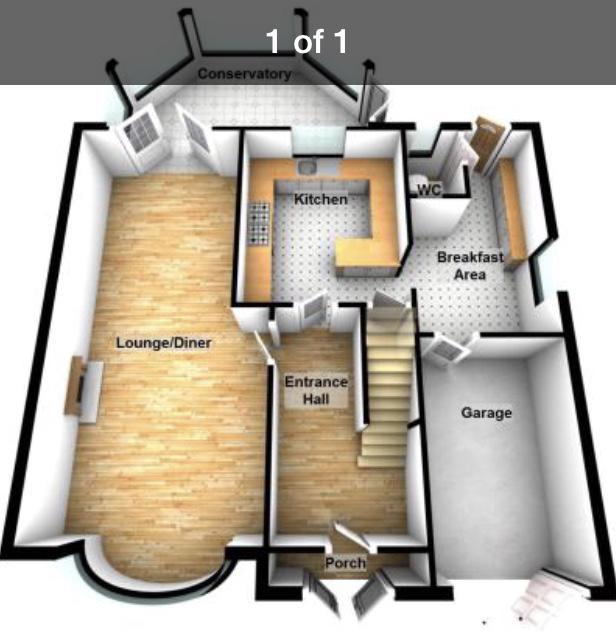 Downstairs floorpan