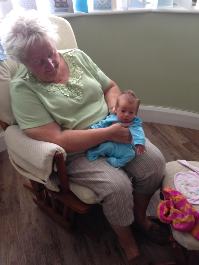 Nanny pat and Toby