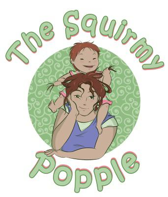 The Squirmy Popple logo