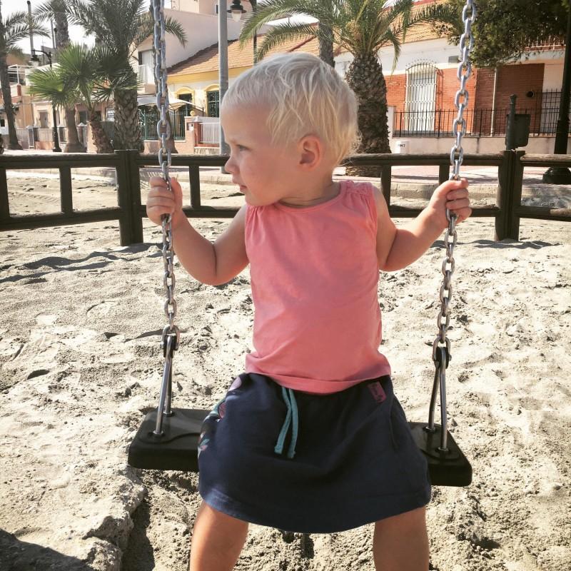 Zara in swing