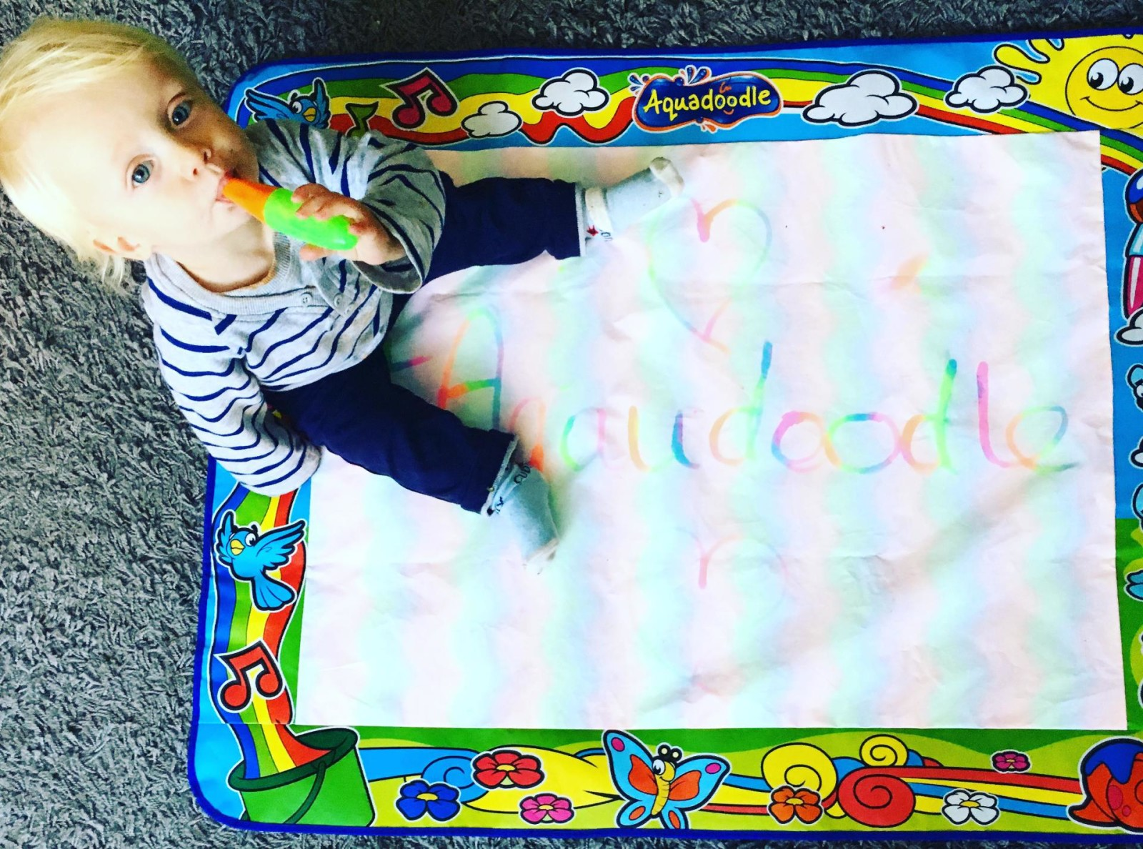 Indoor Fun With Aquadoodle