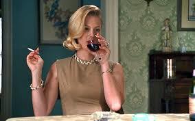 betty mad men smoking