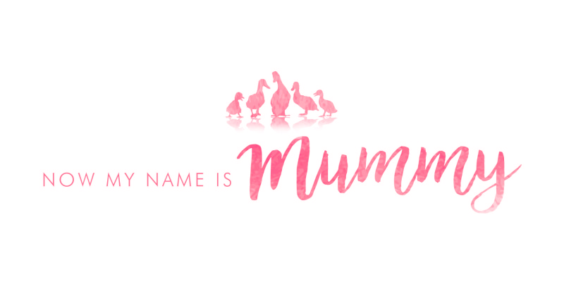 Now my name is mummy logo