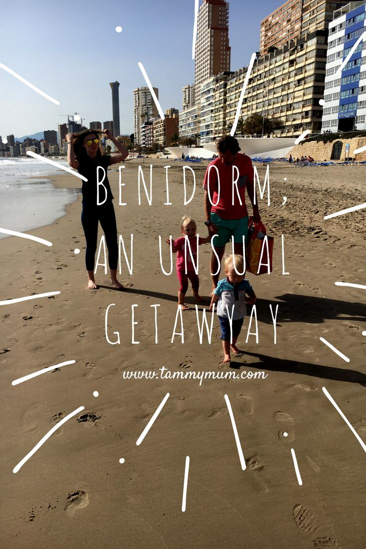 Benidorm, an unusual getaway. How we got on spending 48hours in the Spain's Benidorm with children. Where to stay in Benidorm with children, what to do in Benidorm with children and our thoughts on Benidorm as a holiday destination. #holiday #familyholiday #Benidorm #Spain #holidaydestination