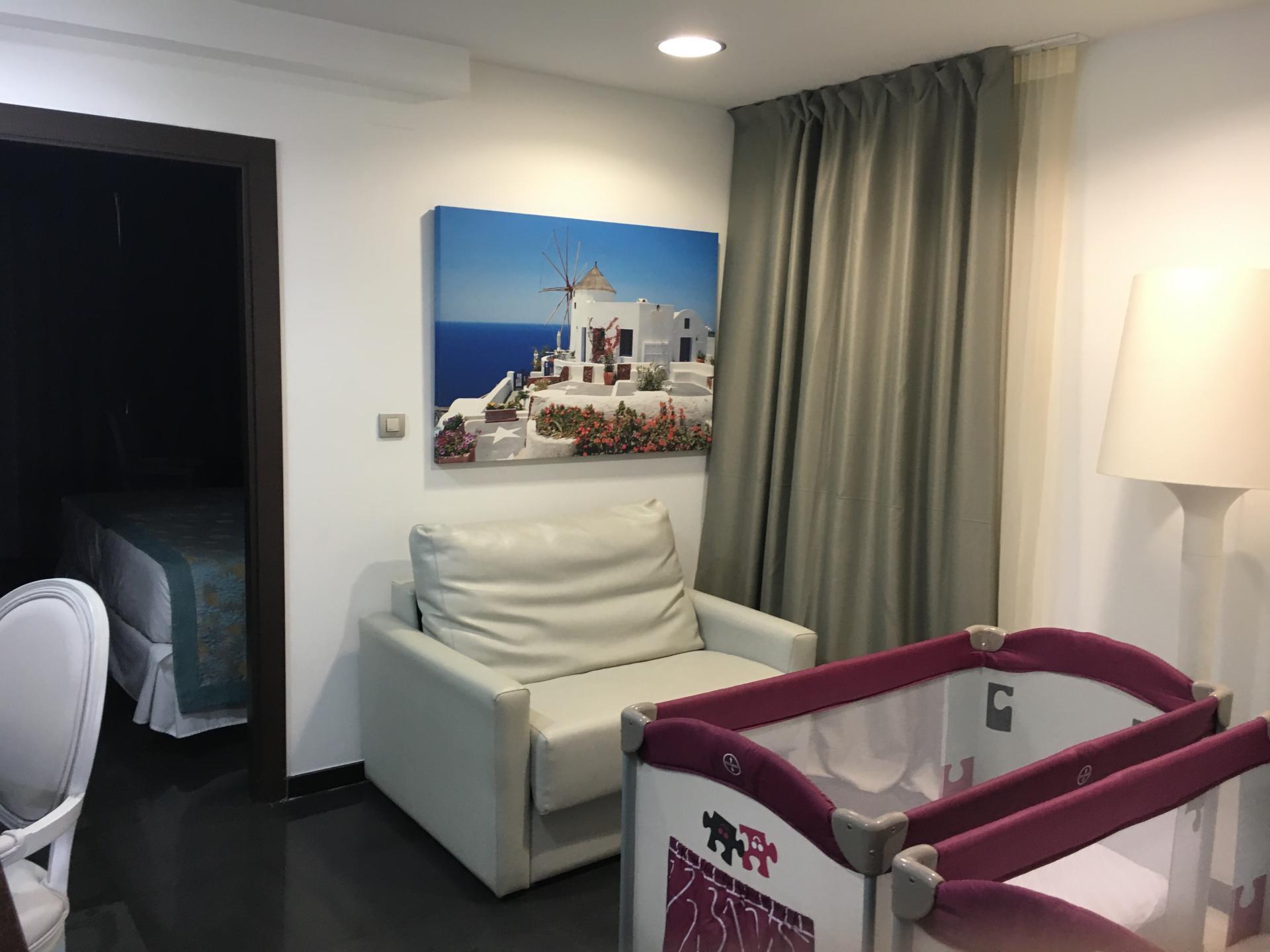 Baby bedroom in hotel