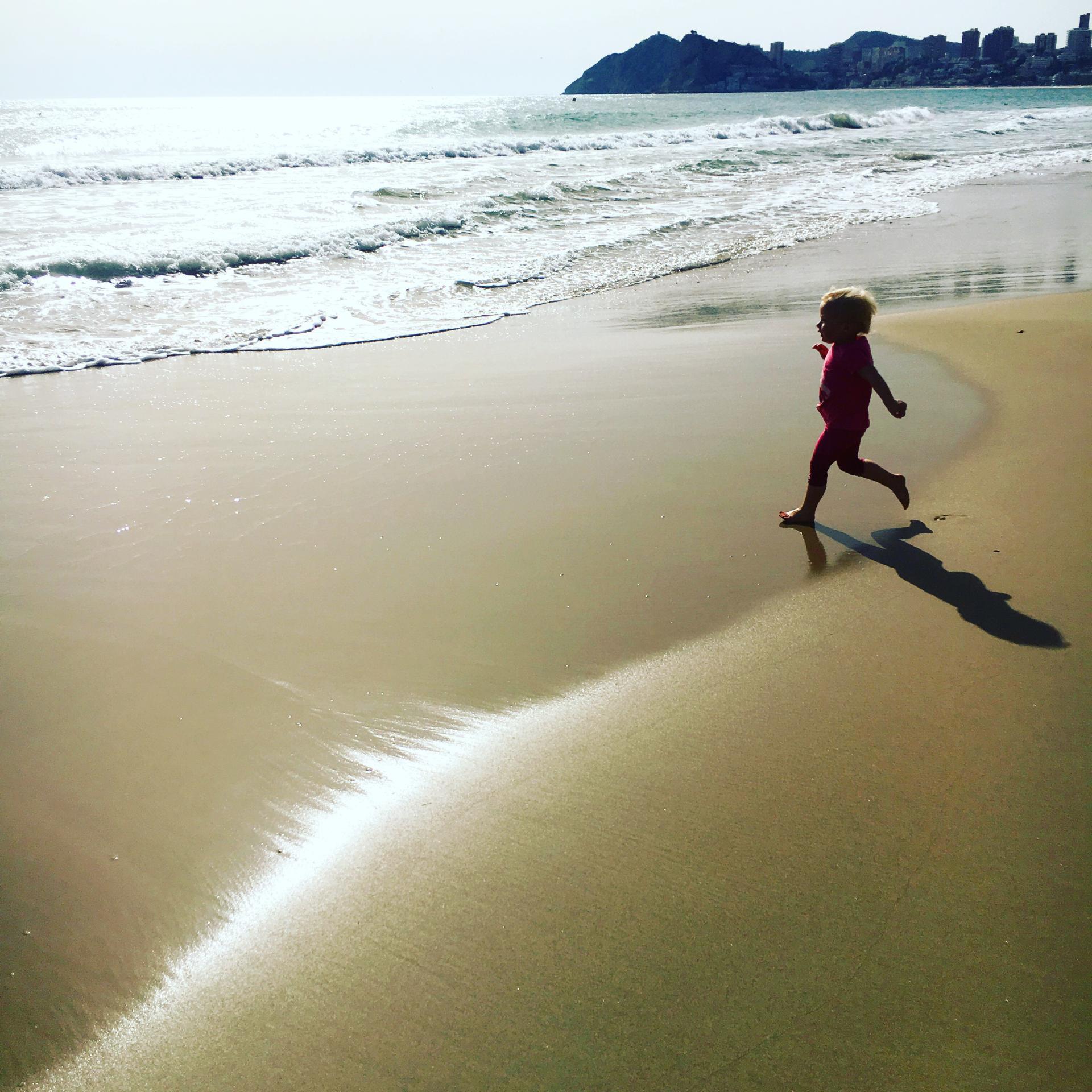 Zara on Benidorm beach