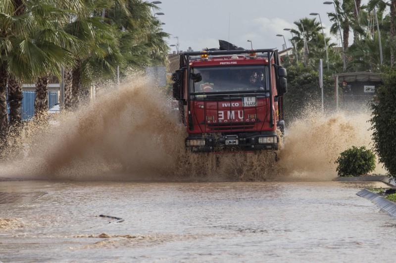 floods in los alcazars
