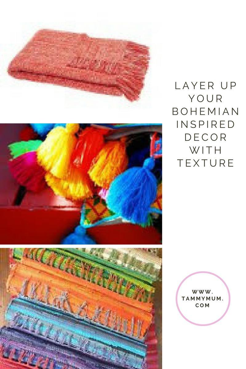 bohemian texture examples