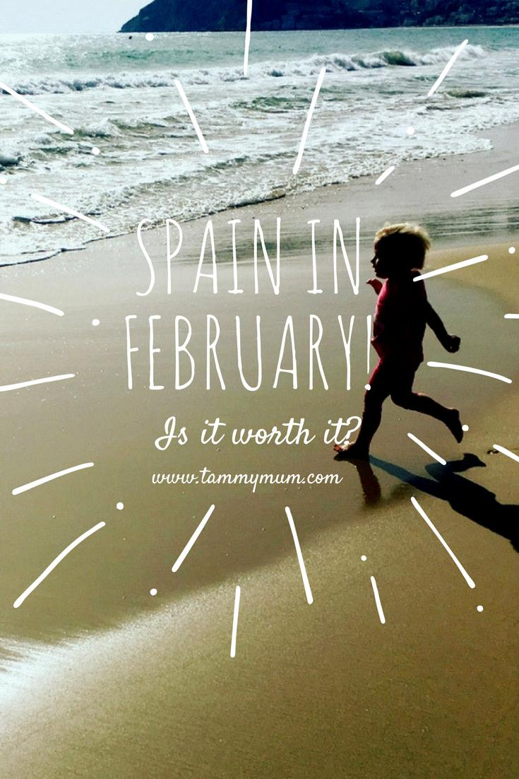 Spain in February; is it worth it? How we found going on a family holiday to Spain in February in search of some winter sun.  What the weather is like, what is available for the children to do in the winter months. A family holiday destination in europe during the winter. #familyholiday #spain #familyholidaydestination #holidaywithchildren