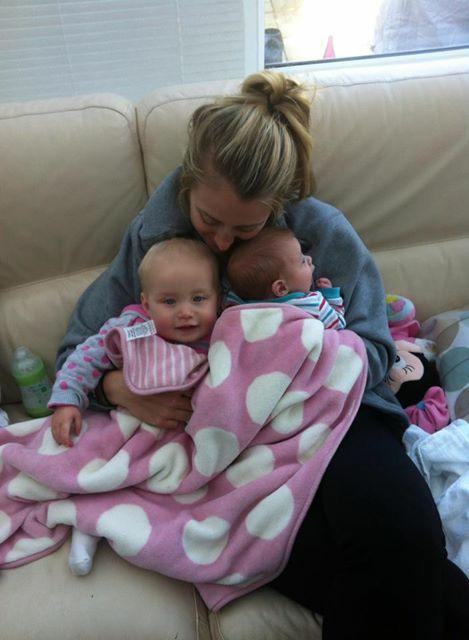 Me and my two under two