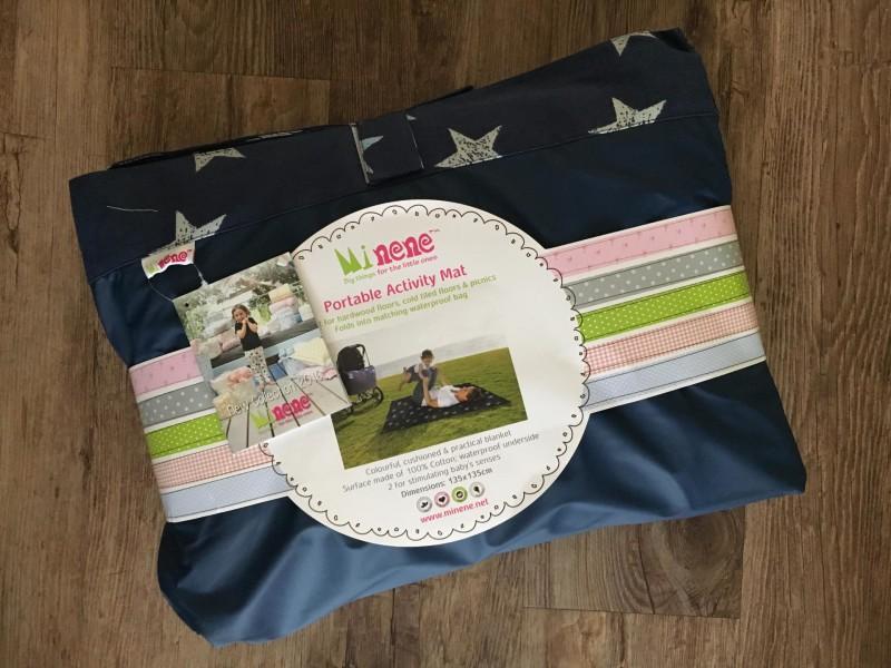 picnic blanket in bag