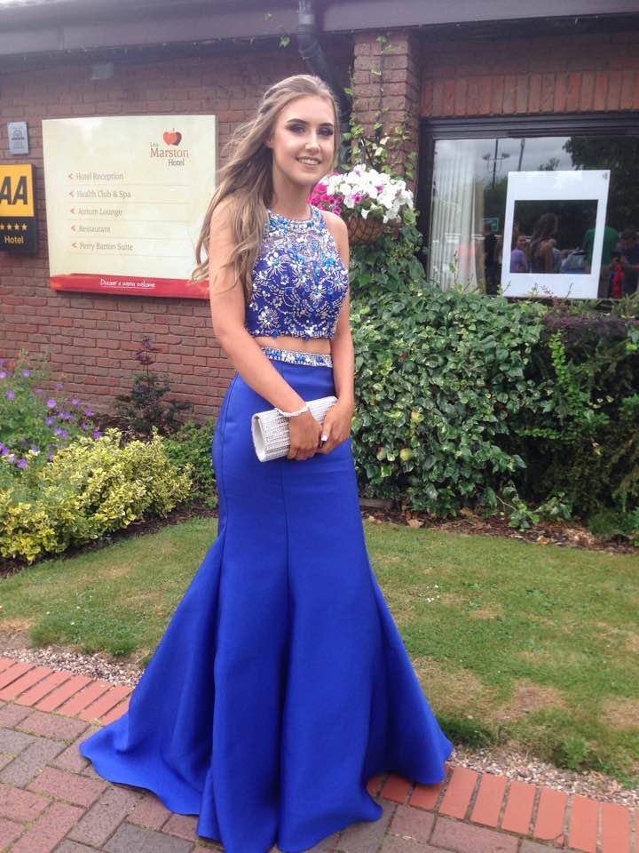 Lauren at prom