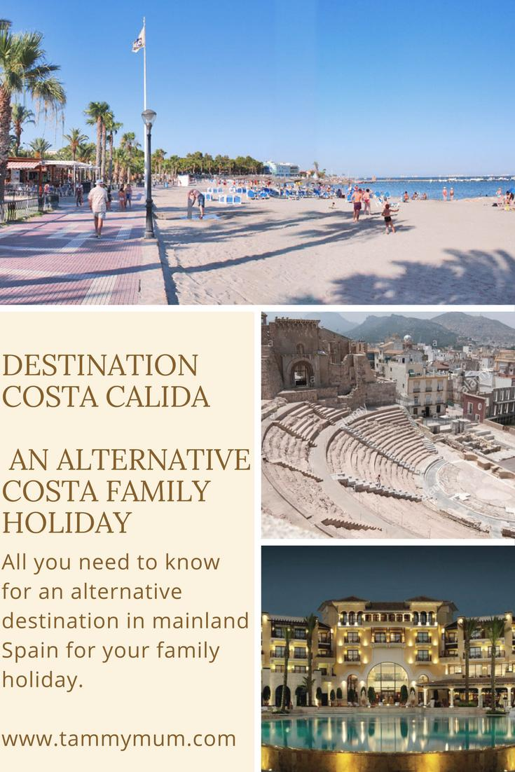 All you need to know for an alternative destination in mainland Spain for your family holiday. From places to stay to things to do along with useful tips to bear in mind when holidaying on the Costa Calida, mainland Spain