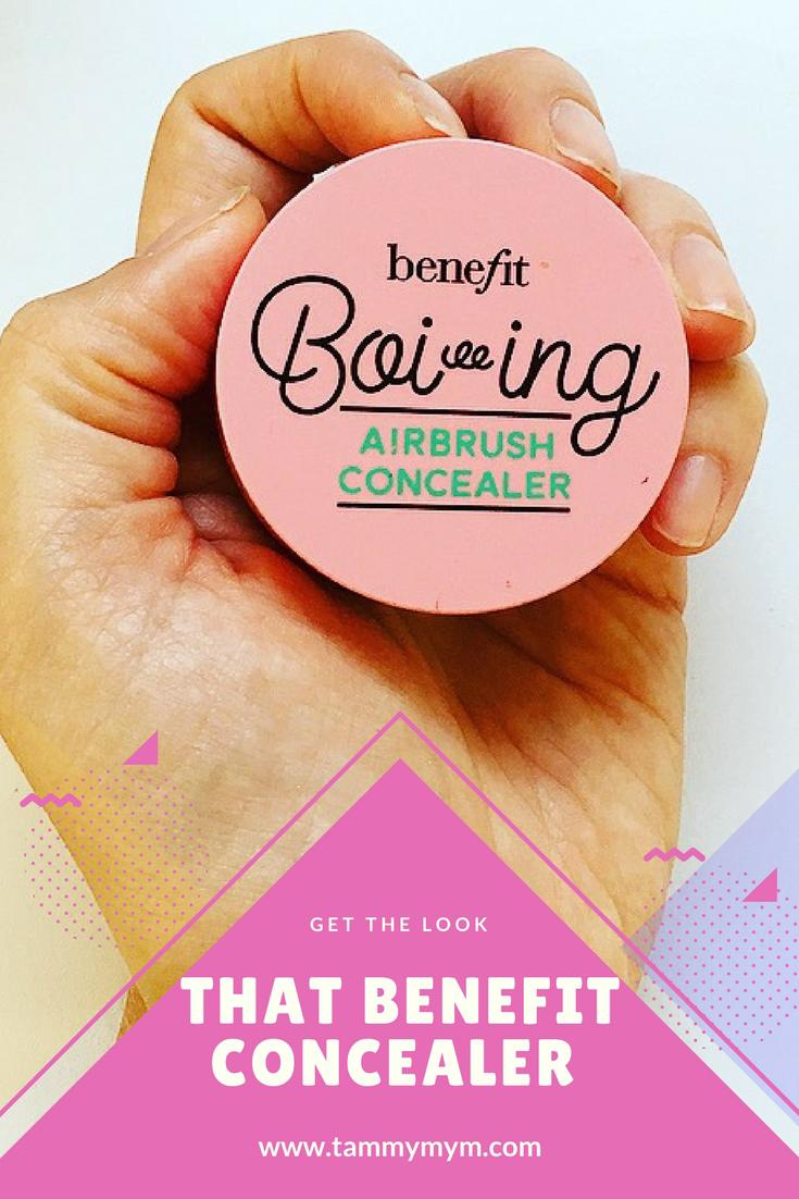 That Benefit Concealer. Review of Benefits new Boing number 2, the coverage, staying power, cost and of course that advert.