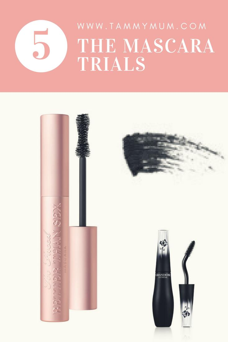 The Mascara Trials. The tried and tested opinion of what makes the best mascara for the right occasion.