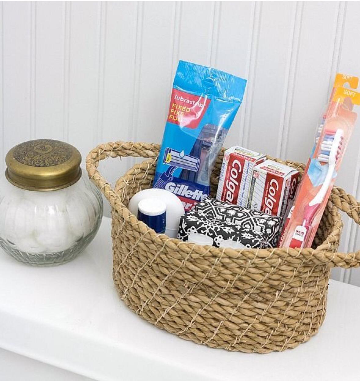Bath room basics for guest room