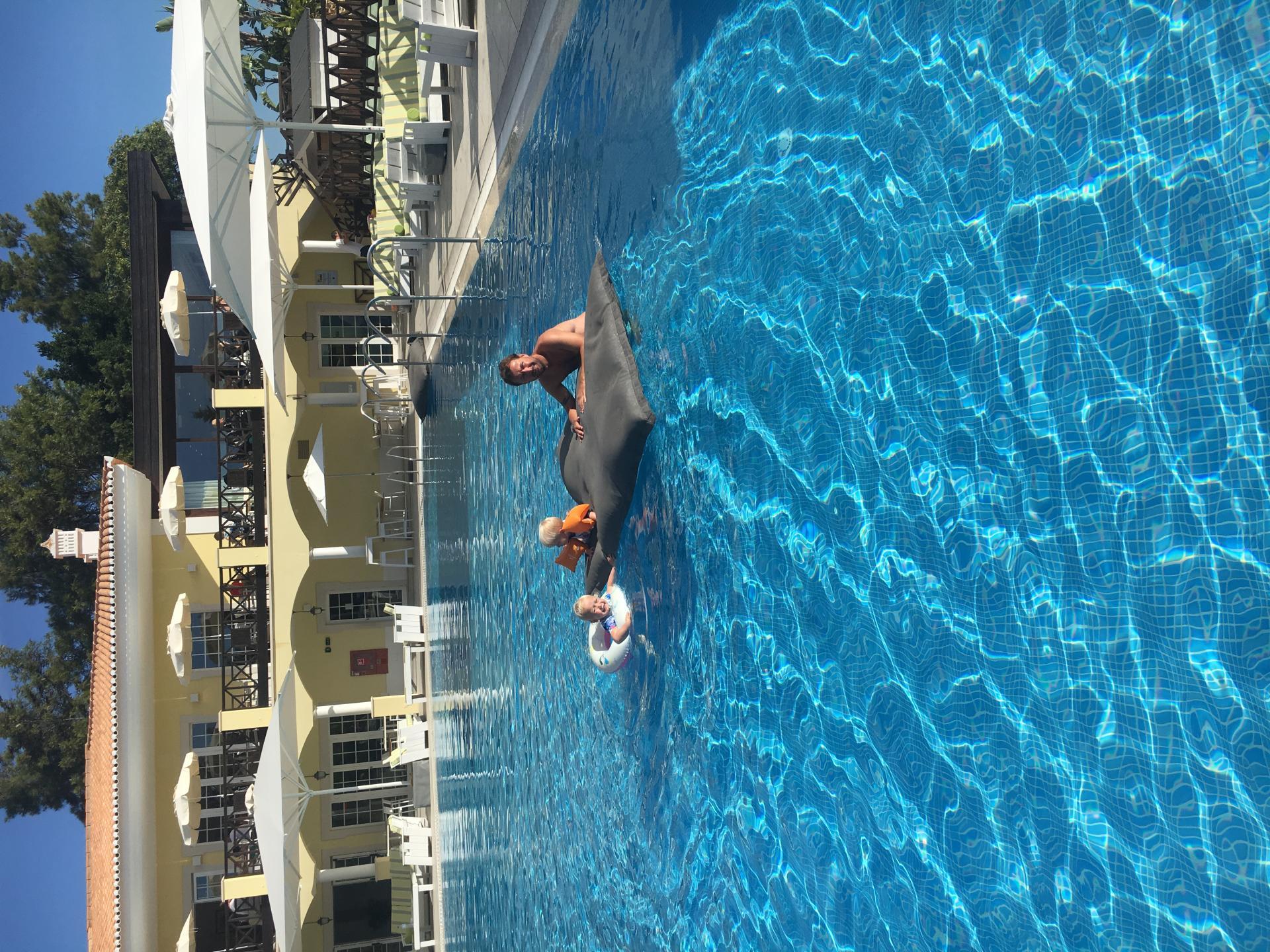 swimmingpool at Martinhal Quinta