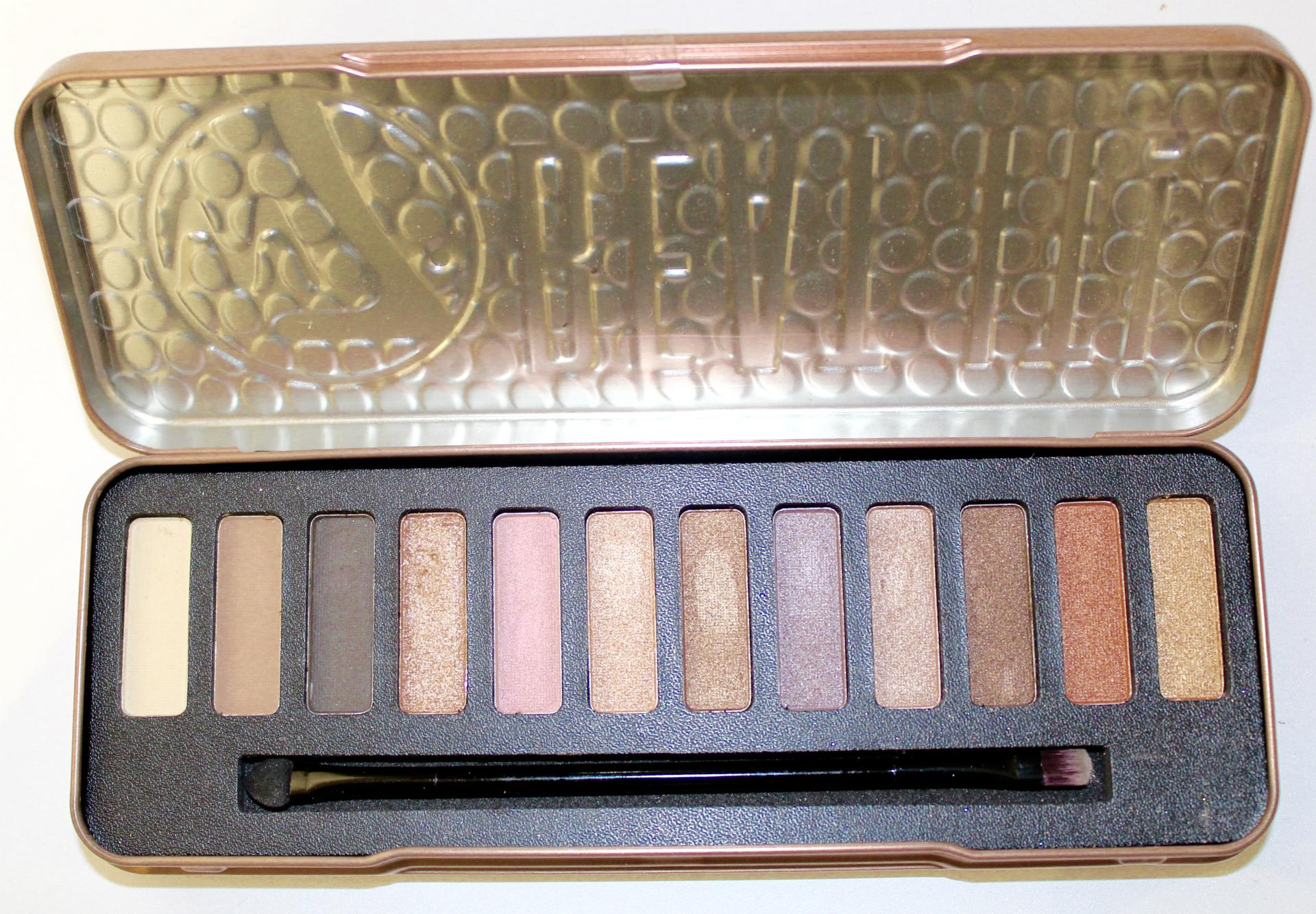 w7 Beat it natural nude eye colour palette