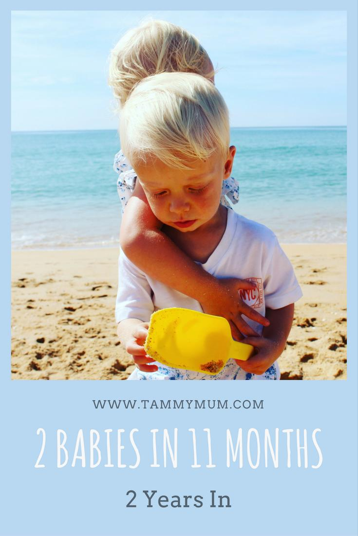 2 babies in 11 months - 2 years in. The good the bad and the ugly of parenting 2 children with just 11 months between them at ages 2 and 3 - 2 years in