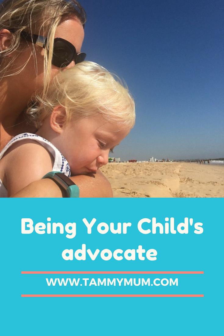 Have you had to be your child's voice when they haven't got theirs. Have you had to advocate for your children ? Are you able to stand your ground and fight for their best interest. A post about the unexpected challenge of parenthood.