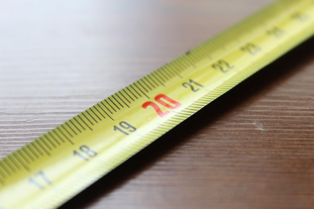 tape measure - things to consider when buying a sofa