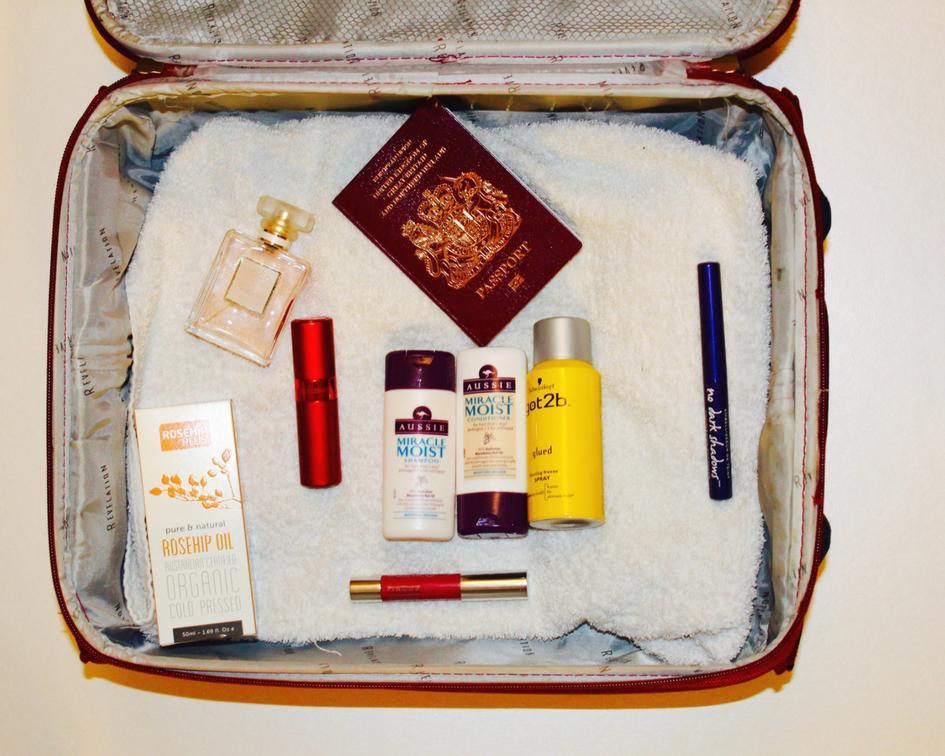 Beauty Travel Essentials (in under 100ml)