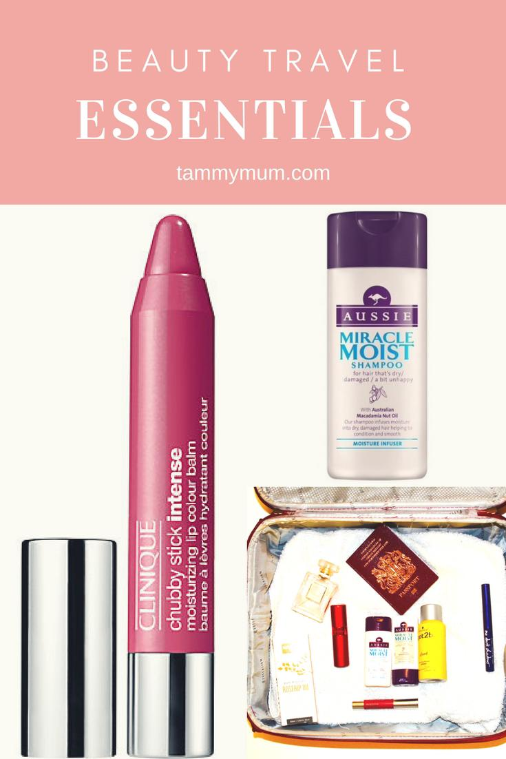 Beauty travel essentials in under 100ml. Whether you are travelling with a carry on bag only or looking to lighten your load and not be overcharged for excess luggage here are some must have beauty companions for your travels all of which meet the 100ml carry on requirement.