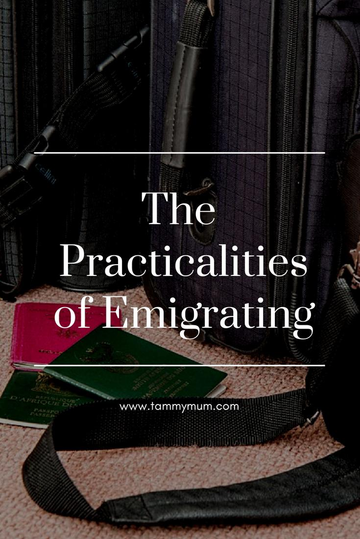 The practicalities of emigrating. Some top things to consider when moving you and your family abroad.