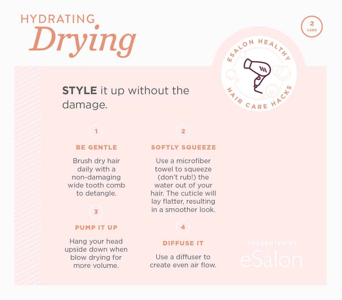 hair care winter hacks infographic 2