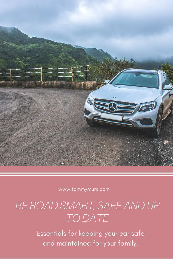 Be road smart,safe and up to date. This for keeping your car road safe and maintained for your family