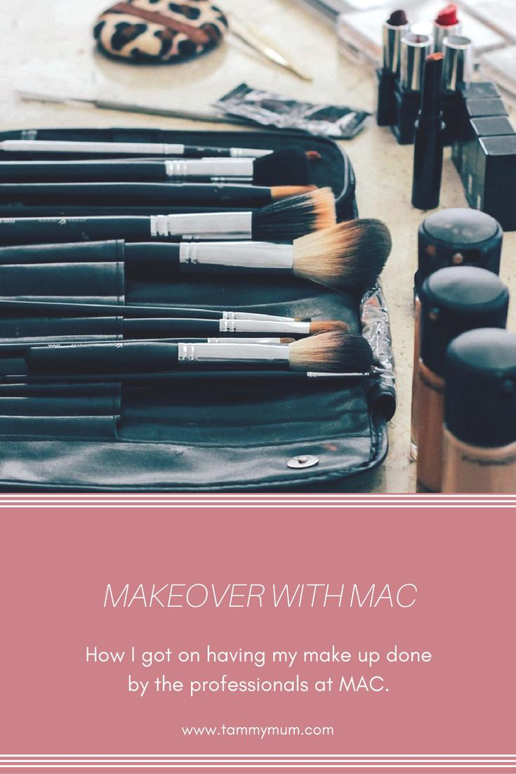 Makeover with MAC. How I got on having my make up done by the professionals at MAC