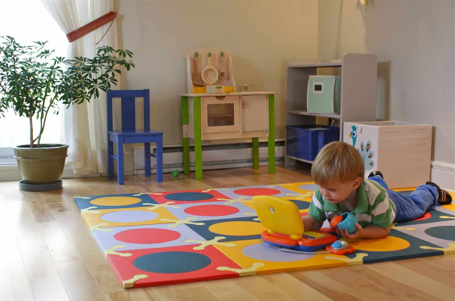 Kid Friendly Flooring Options   Rubber Carpet